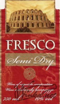 Fresco Czerwone Półwytrawne Ambra Czerwone Półwytrawne Wino