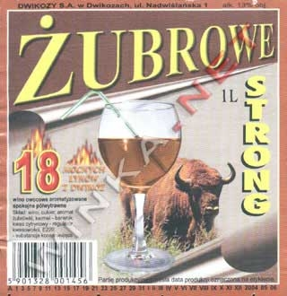 Żubrowe Strong